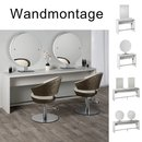 Brooklyn - Bedienplatz Friseur - Wandmontage